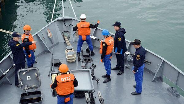 Турецкие военные поучаствовали в учебных тренировках ВМС Азербайджана - Sputnik Азербайджан
