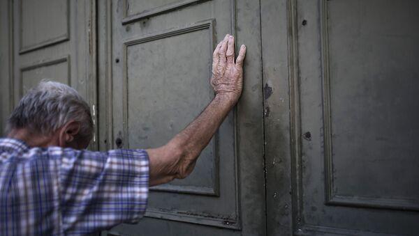 Пенсионер, фото из архива - Sputnik Азербайджан