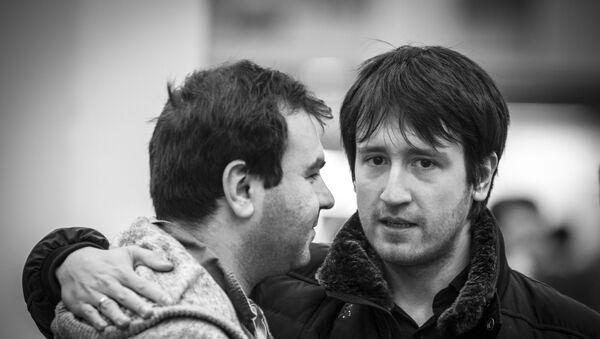 Шахрияр Мамедьяров и  Теймур Раджабов, фото из архива - Sputnik Азербайджан