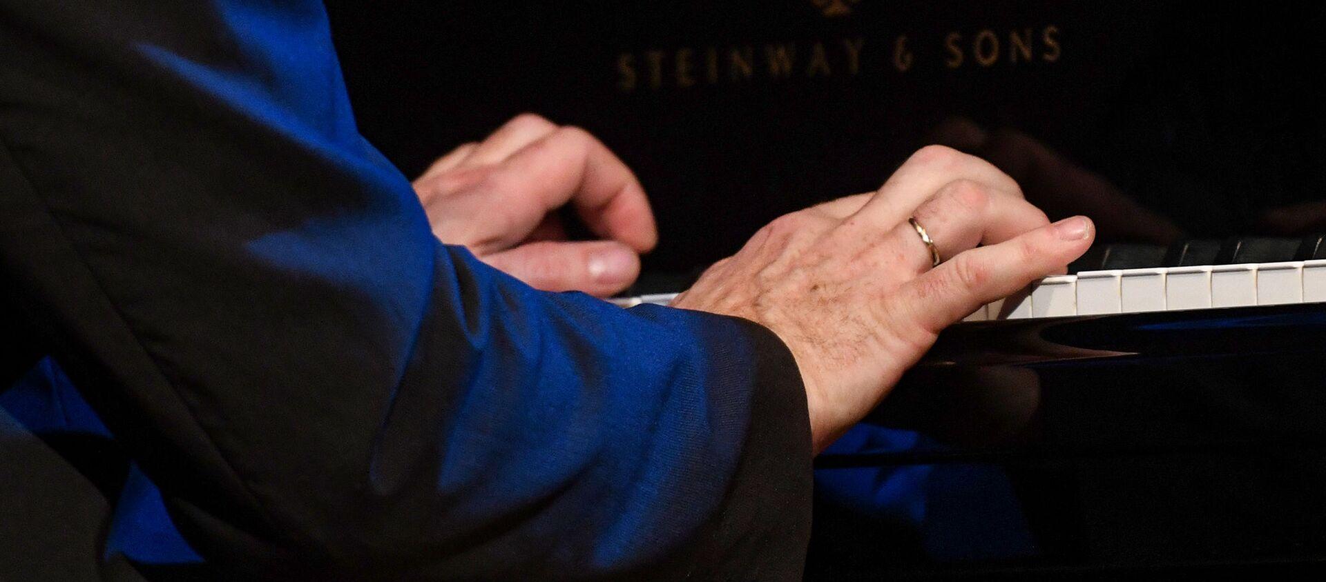 Выступление Сибель Косе и джаз-трио Алексея Черемизова в Баку - Sputnik Азербайджан, 1920, 04.12.2020