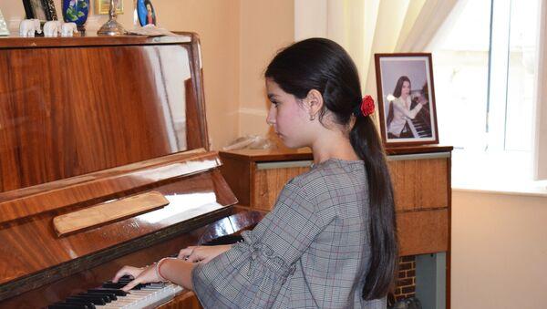 Пианистка из Америки Алиса Дан - Sputnik Азербайджан