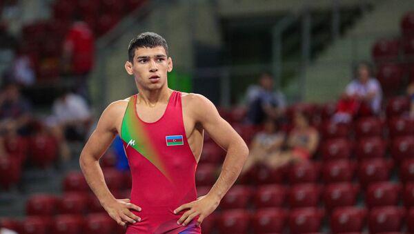 Борец сборной Азербайджана Нихад Мамедли  - Sputnik Азербайджан