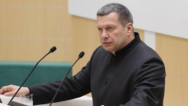 Журналист, теле- и радиоведущий Владимир Соловьев - Sputnik Азербайджан