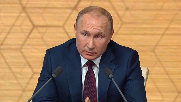 Путин о СНВ-3: Россия готова в любой момент продлить договор - Sputnik Азербайджан