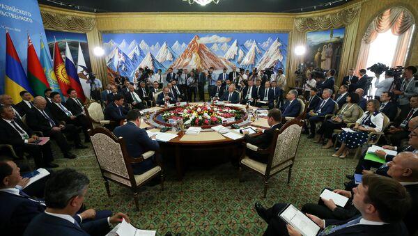 Заседание Евразийского межправительственного совета стран Евразийского экономического союза (ЕАЭС), фото из архива - Sputnik Азербайджан