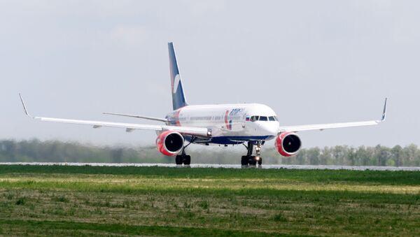 Самолет авиакомпании Azur Air - Sputnik Азербайджан