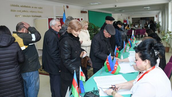 Муниципальные выборы в Азербайджане - Sputnik Азербайджан
