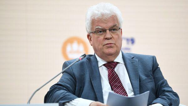Постоянный представитель России при Европейском союзе, чрезвычайный и полномочный посол Владимир Чижов - Sputnik Азербайджан