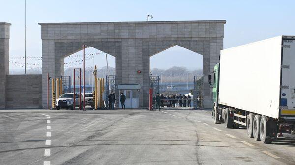 Церемония открытия моста на реке Самур между Азербайджаном и Россией - Sputnik Азербайджан