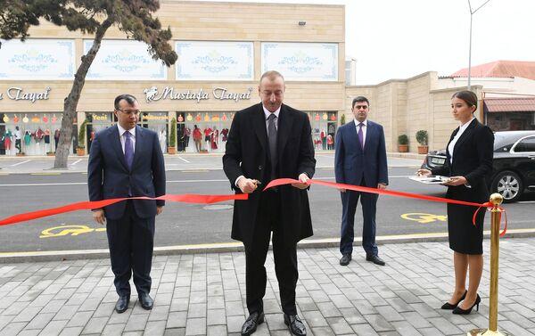 Президент Ильхам Алиев принял участие в открытии центра DOST номер 2 - Sputnik Азербайджан