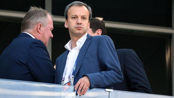 Глава Международной федерации шахмат Аркадий Дворкович - Sputnik Азербайджан