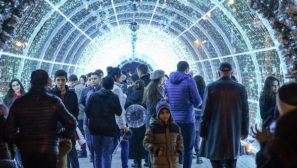 Предновогодний Баку - Sputnik Azərbaycan