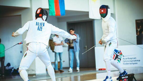 Азербайджанские фехтовальщики - Sputnik Азербайджан