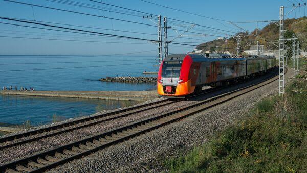 Скоростной поезд  - Sputnik Азербайджан