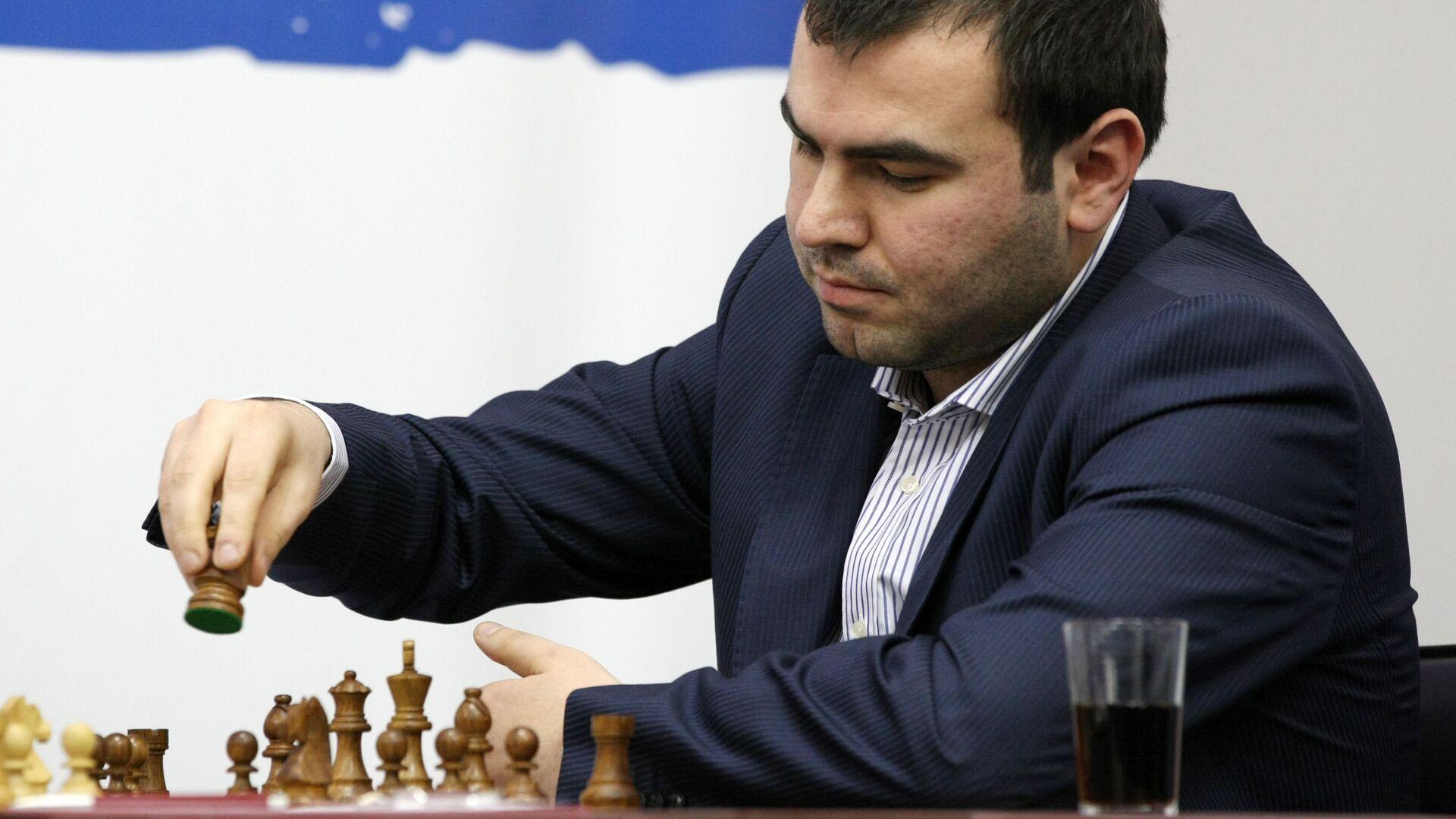 Азербайджанский гроссмейстер Шахрияр Мамедъяров - Sputnik Азербайджан, 1920, 02.08.2021