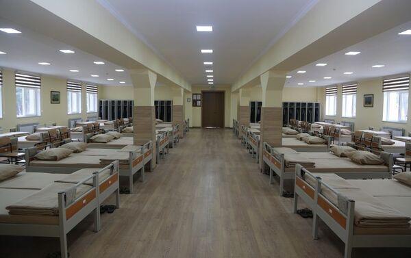 Новое курсантское общежитие в АВВУ имени Гейдара Алиева - Sputnik Азербайджан