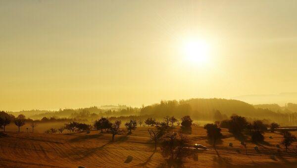 Восход солнца, фото из архива - Sputnik Азербайджан