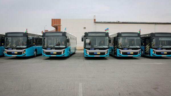12 metrlik BMC Procity markalı avtobus - Sputnik Azərbaycan