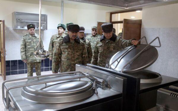 Состоялось открытие очередной новой воинской части в прифронтовой зоне - Sputnik Азербайджан