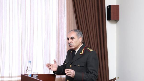 Военный прокурор Азербайджана Ханлар Велиев, фото из архива - Sputnik Азербайджан