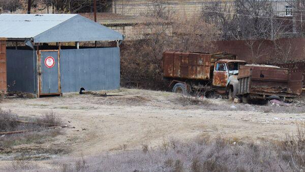 Утилизация автомобилей, фото из архива - Sputnik Азербайджан