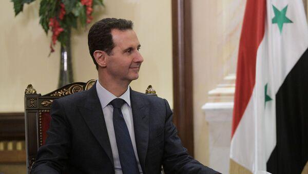 Президент Сирийской арабской республики Башар Асад , фото из архива - Sputnik Azərbaycan