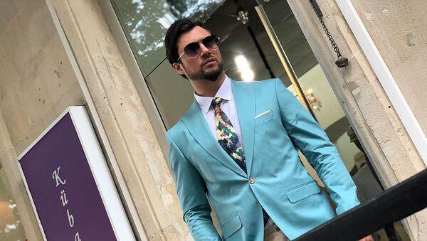 Обладателя титула Best model of the World Рустам Джабраилов - Sputnik Азербайджан