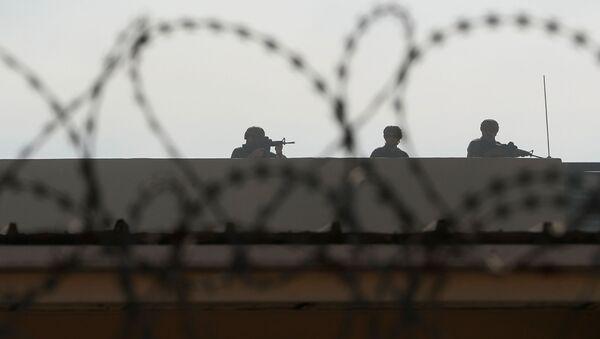Сотрудники службы безопасности посольства США в Багдаде, фото из архива - Sputnik Азербайджан