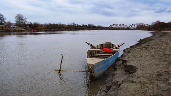 Река Кура, фото из архива - Sputnik Азербайджан