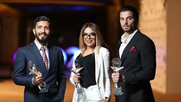 Азербайджанские знаменитости стали обладателями премии Türkiyə Başarı Ödülü - Sputnik Азербайджан