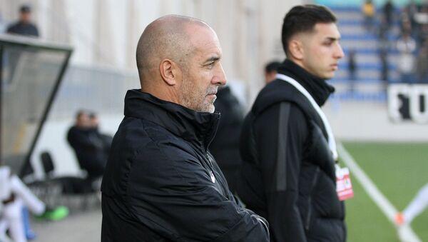 Главный тренер бакинского Нефтчи Роберто Бордин, фото из архива - Sputnik Азербайджан