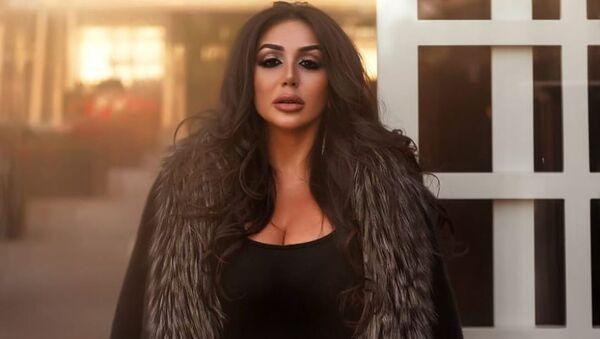 Азербайджанская певица Латифа Сойез, фото из архива - Sputnik Азербайджан