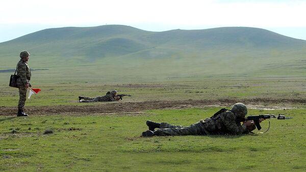 Azərbaycan Ordusunun tabor komandirlərinin toplantısı - Sputnik Азербайджан