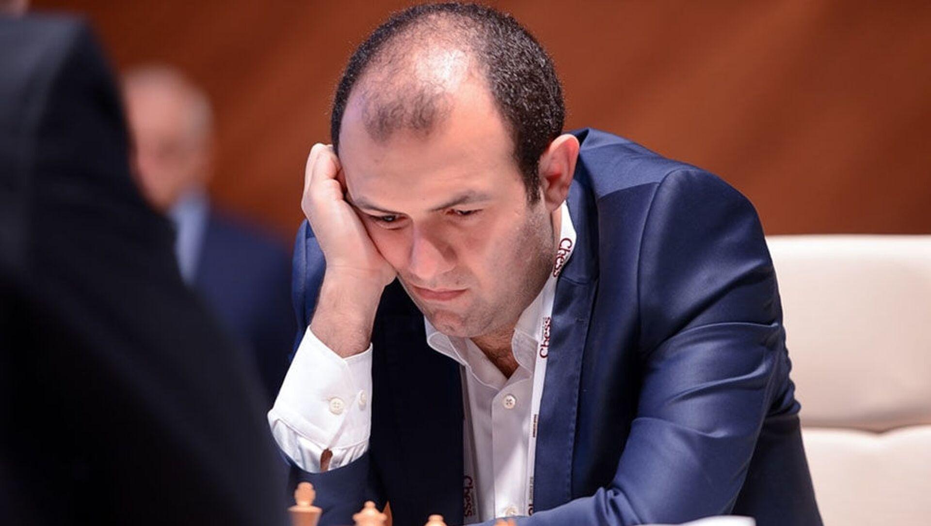 Азербайджанский гроссмейстер Рауф Мамедов, фото из архива - Sputnik Азербайджан, 1920, 04.04.2021