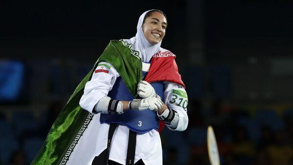 Иранская спортсменка Кимия Ализаде - Sputnik Азербайджан