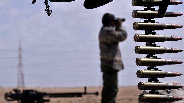 Пулеметная лента, фото из архива - Sputnik Азербайджан