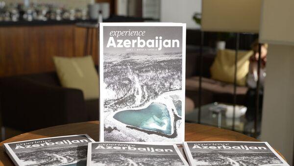 Azərbaycan turizmini dünyada tanıdan jurnalın təqdimatı keçirilib - Sputnik Азербайджан