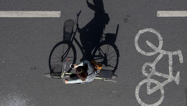 Велосипедист, фото из архива - Sputnik Азербайджан