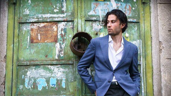 Азербайджанский пианист Риад Мамедов, фото из архива - Sputnik Азербайджан