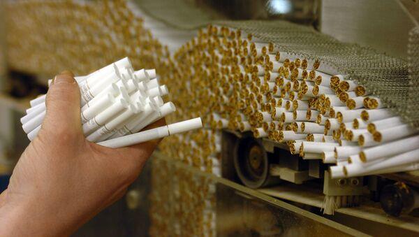 Заводы по производству табачной продукции, фото из архива - Sputnik Azərbaycan