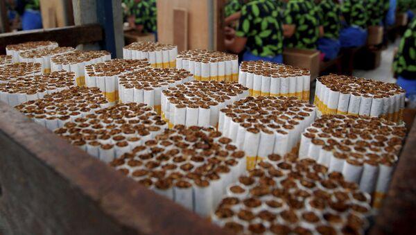 Заводы по производству табачной продукции, фото из архива - Sputnik Азербайджан