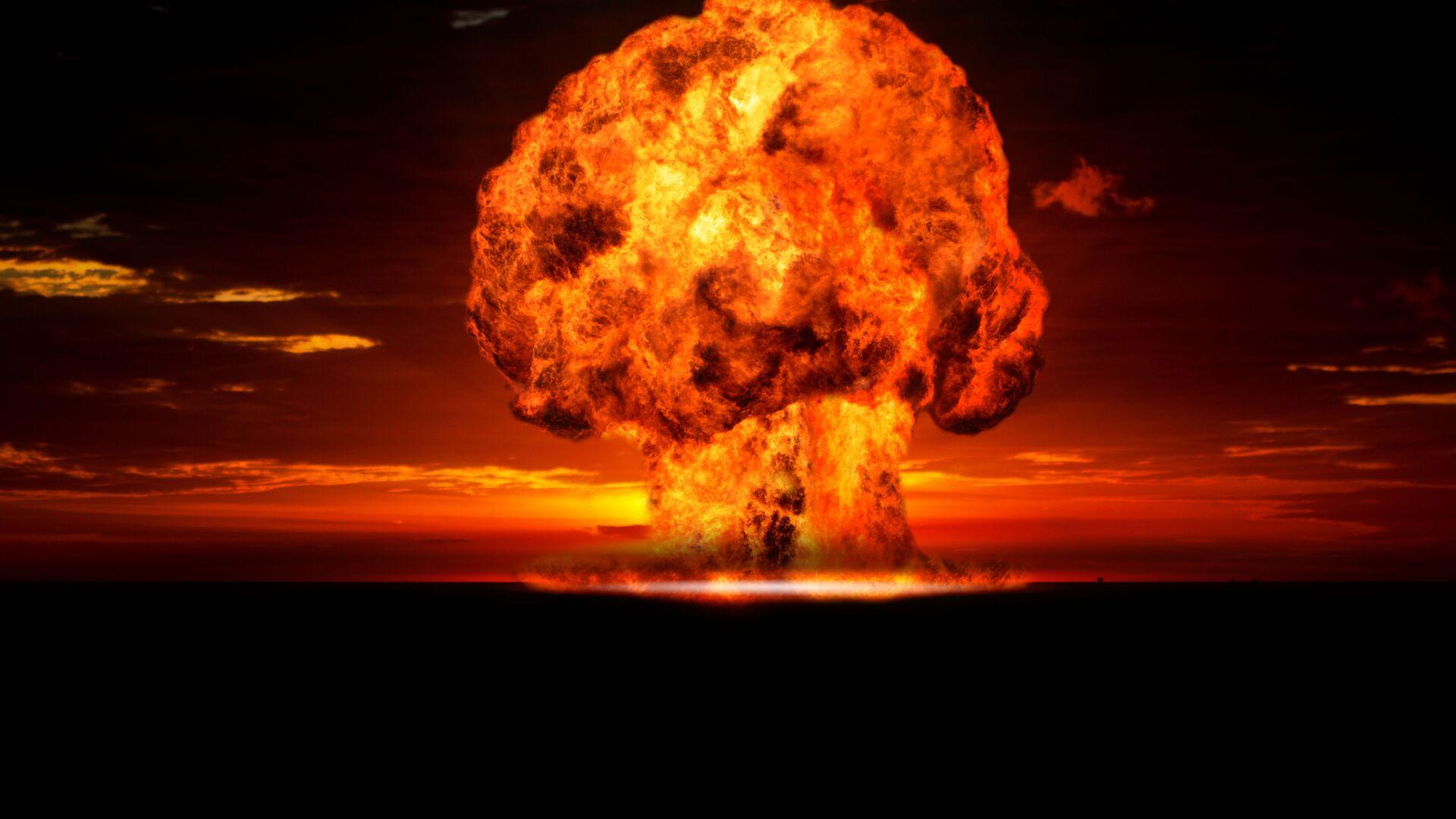 Ядерный взрыв - Sputnik Azərbaycan, 1920, 26.09.2021