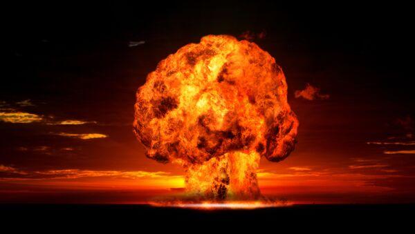 Ядерный взрыв - Sputnik Azərbaycan