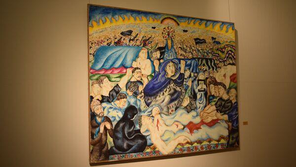Выставка Кровавая память, посвященная 30-й годовщине трагедии 20 Января, в Азербайджанском национальном музее искусств - Sputnik Азербайджан