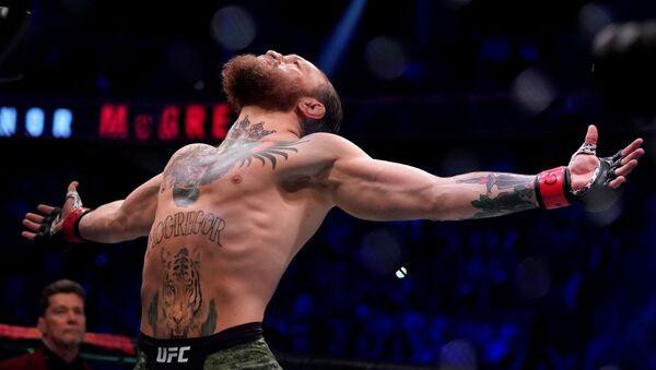 Боец Конор Макгрегор да старта боя на турнире UFC 246 в Лас-Вегасе - Sputnik Азербайджан