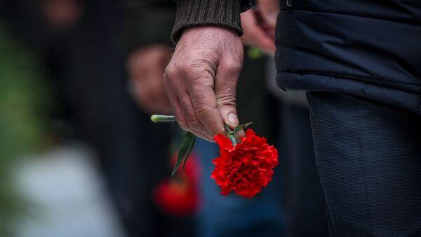 Траурное шествие на Аллее шехидов 20 января 2020 года - Sputnik Азербайджан