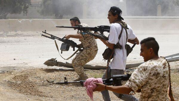Ситуация в Ливии, фото из архива - Sputnik Азербайджан