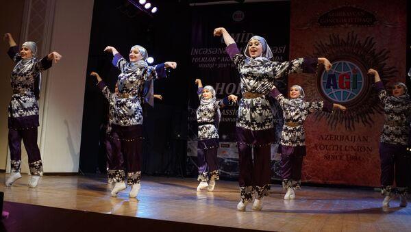 Конкурс искусств Ümid 2019 («Надежда-2019») - Sputnik Азербайджан