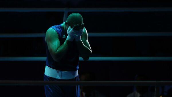 Боксер, фото из архива - Sputnik Азербайджан