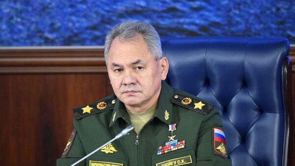 Министр обороны РФ, генерал армии Сергей Шойгу - Sputnik Азербайджан